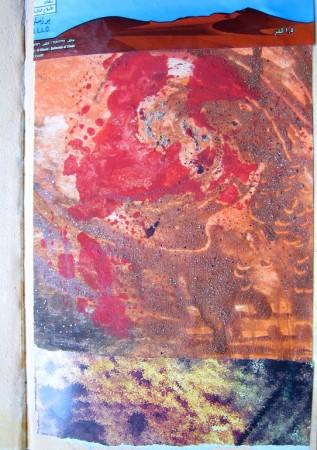 Farben der Wüste (Collage) 3