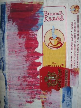 Tee und brauner Kandis