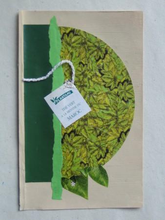 Thé vert a la menthe du Maroc