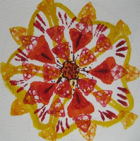 Mandala (Gouache)
