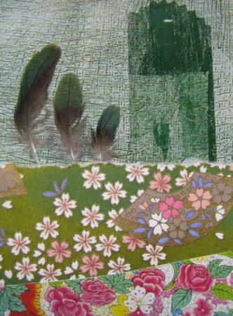 Vogelgarten (Collage)