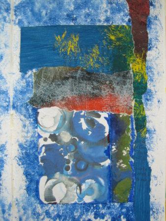 Schöner Tag am Meer, Collage
